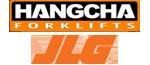 Montacargas Hangcha y plataformas JLG